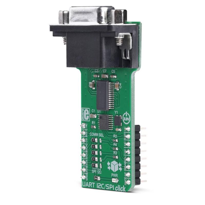 UART I2C/SPI Click | Mikroe