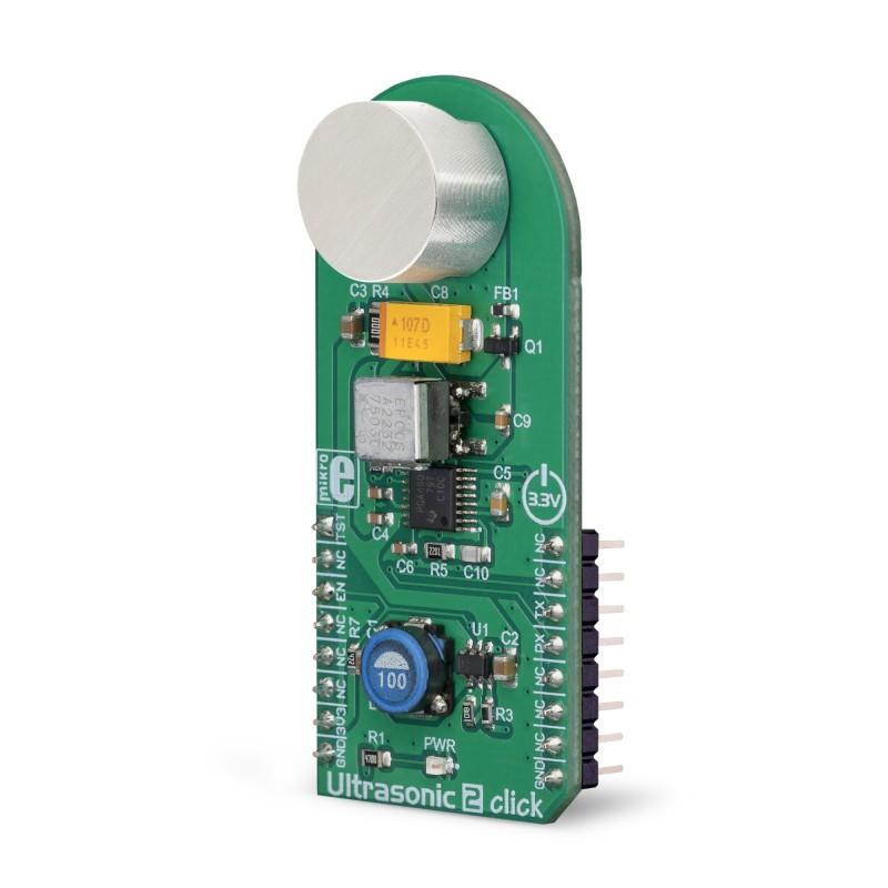 Ultrasonic 2 Click   MikroElektronika