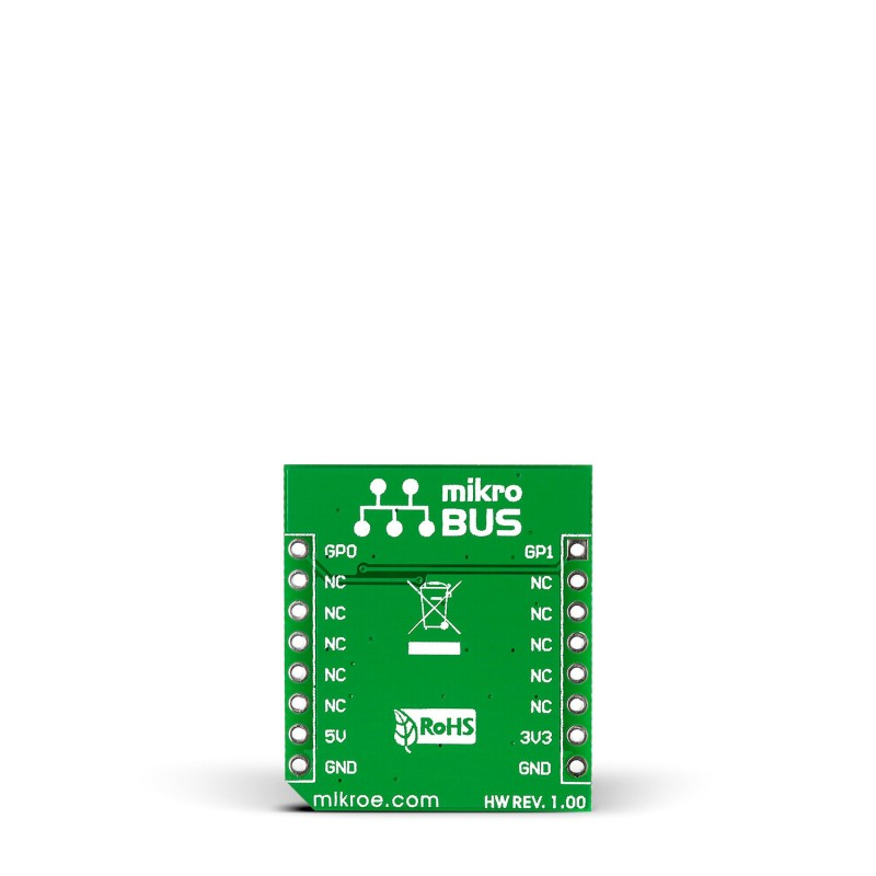 Unique UD click — board with DS2401 48-bit silicon serial