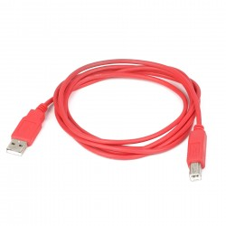 USB Cable A to B - RED