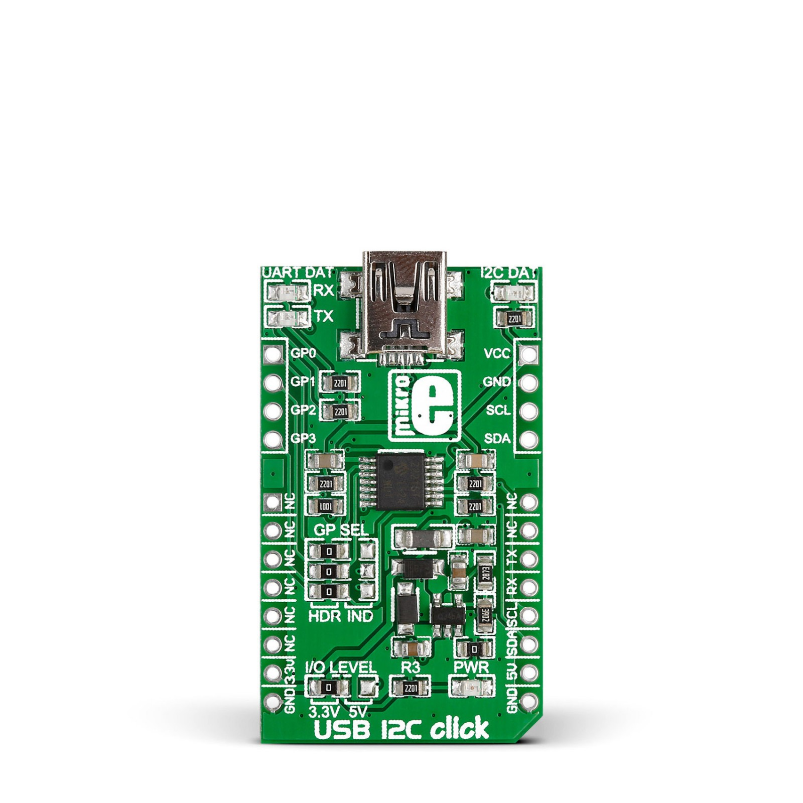 Usb I2c Click Board With Mcp2221 To Uart Converter Interface Schematic Mgctlbxnmzp Mgctlbxv5112 Mgctlbxlc Mgctlbxpprestashop
