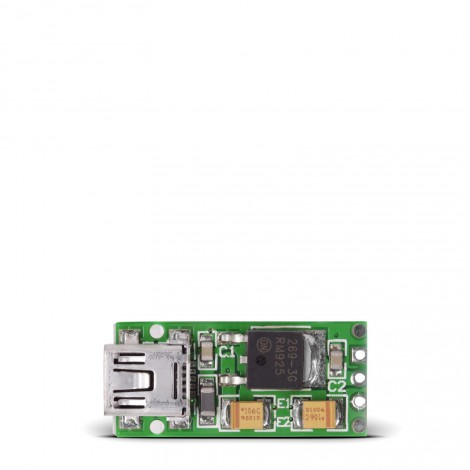 Mikroe Power Management USB Reg Board