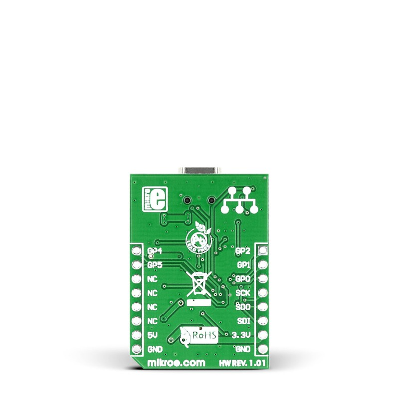 USB SPI click - Breakout board for MCP2210 USB to SPI converter