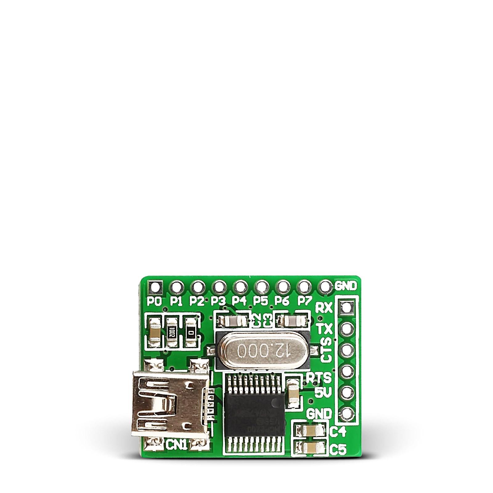 USB UART 2 Board - MCP2200 USB to Serial adapter board