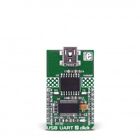 USB UART 2 click - provides US...