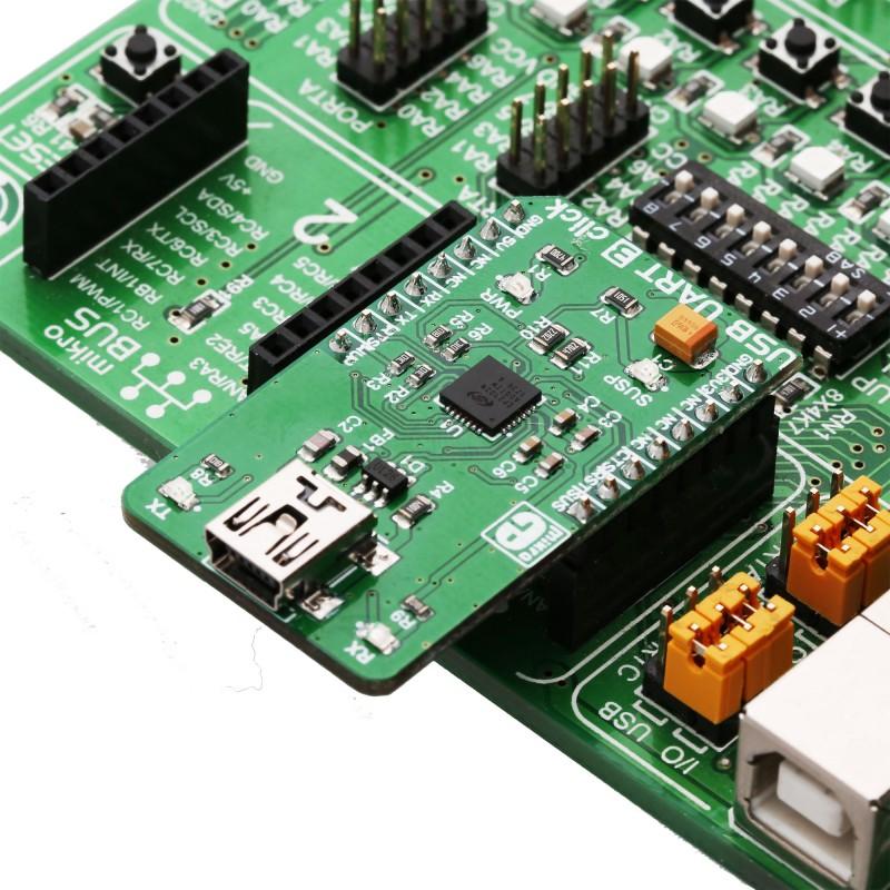 USB UART 3 click | MikroElektronika