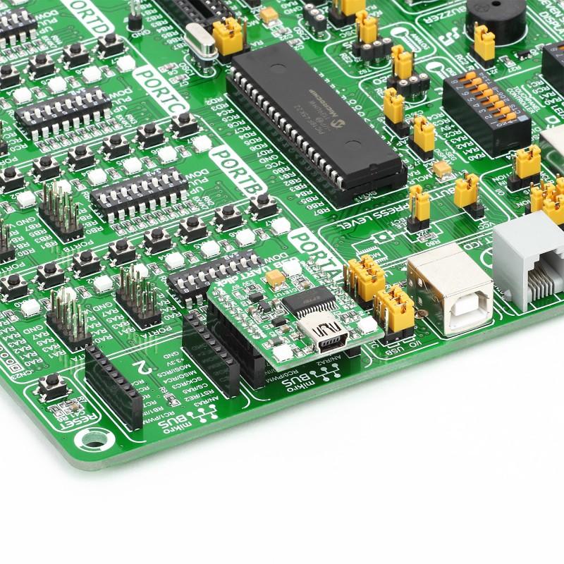 USB UART click - Breakout board for FT232RL chip