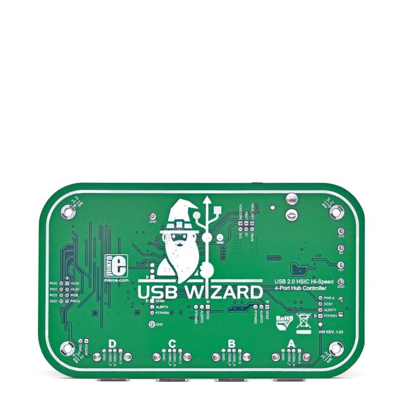 USB Wizard - communicate with up to four USB devices | MikroElektronika