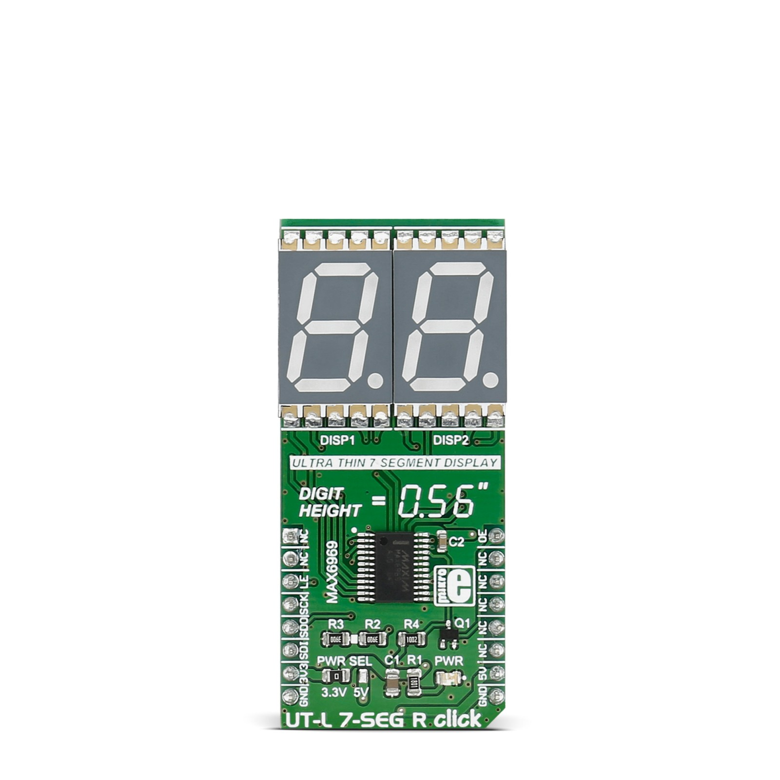Ut L 7 Seg R Click Board With Two Segment Displays Circuit Diagram To Interface Pic16f877a Mgctlbxnmzp Mgctlbxv5112 Mgctlbxlc Mgctlbxpprestashop