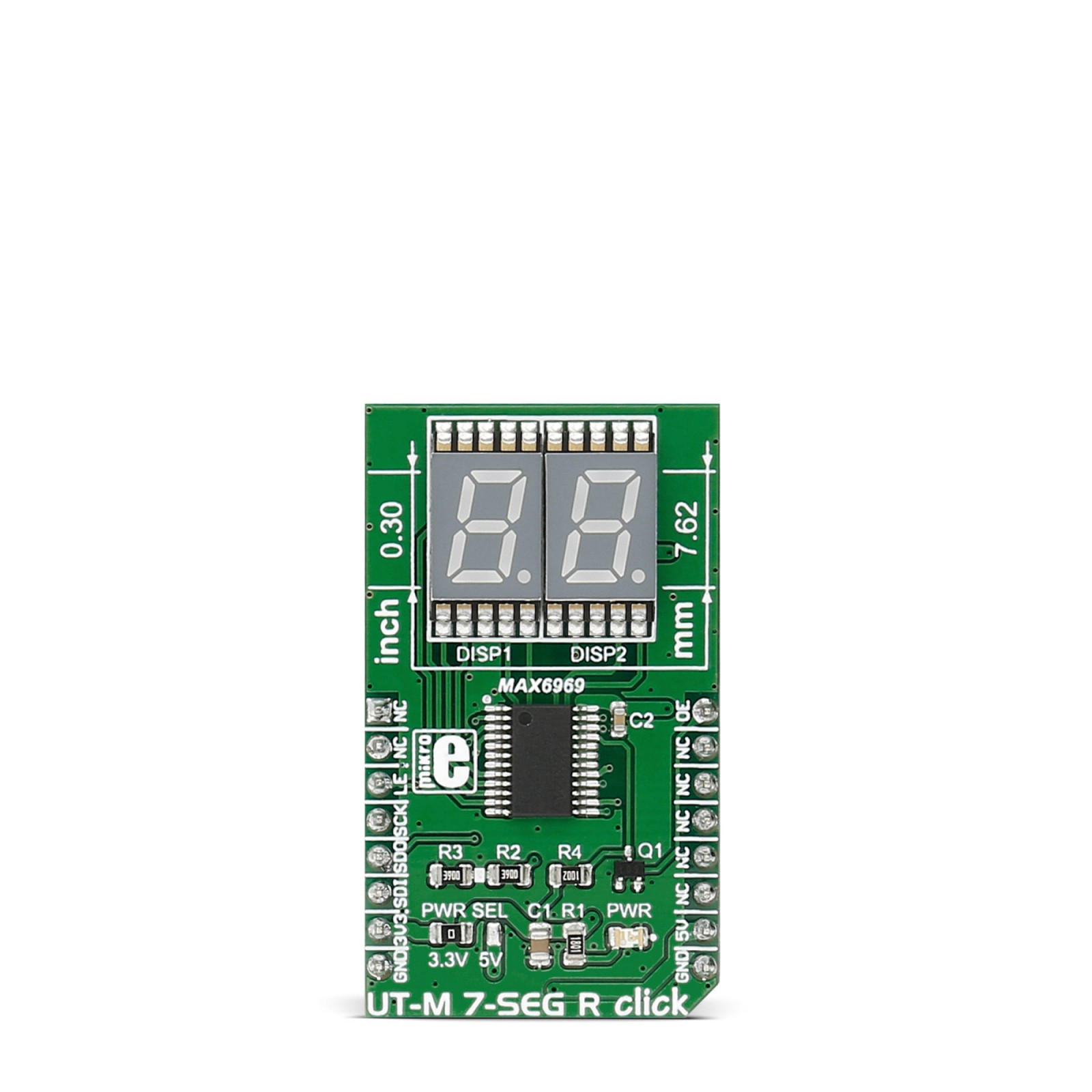 Ut M 7 Seg R Click Board With Two Segment Displays Circuit Diagram Display Engineering Project Mgctlbxnmzp Mgctlbxv5112 Mgctlbxlc Mgctlbxpprestashop
