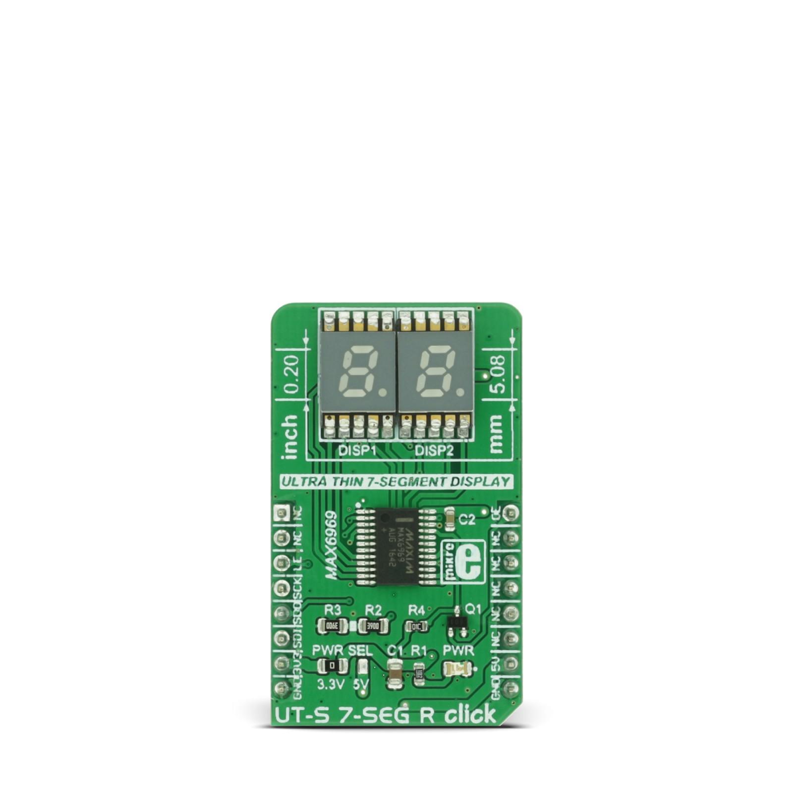Ut S 7 Seg R Click Mikroelektronika Logic High And Low Indicator On Segment Display Circuit Diagram Mgctlbxnmzp Mgctlbxv5112 Mgctlbxlc Mgctlbxpprestashop
