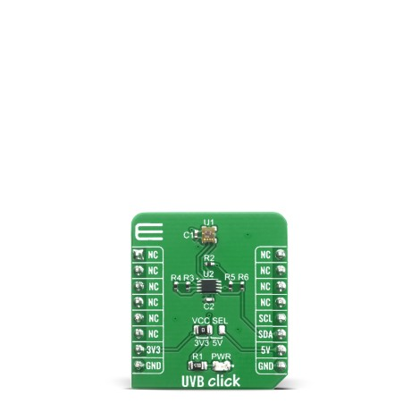 Shop Click Boards Sensors Optical UVB Click Front