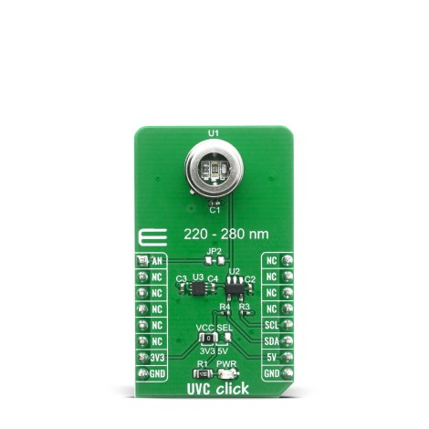 Shop Click Boards Sensors Optical UVC Click Front