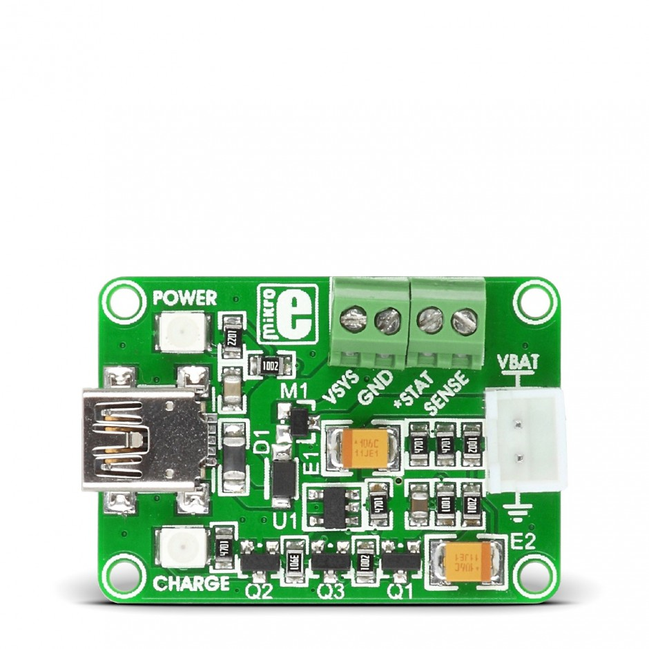 Volt Smart Usb Li Polymer Battery Charger Mikroelektronika Controller Schematic Po