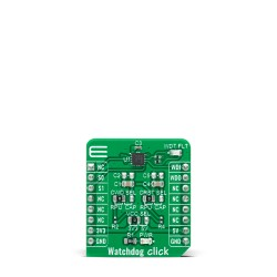 Shop Click Boards Clock & Timing RTC Watchdog Click Front