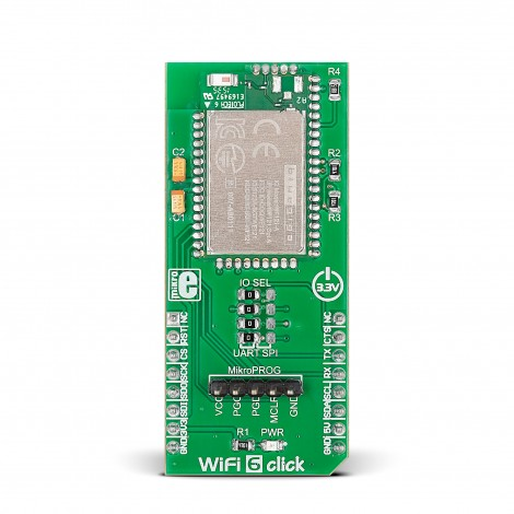 MikroE Click Boards Wireless Connectivity WiFi 6 Click front