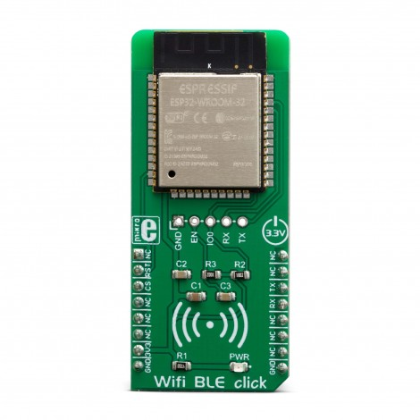 Click Boards Wireless Connectivity WiFi BLE click front