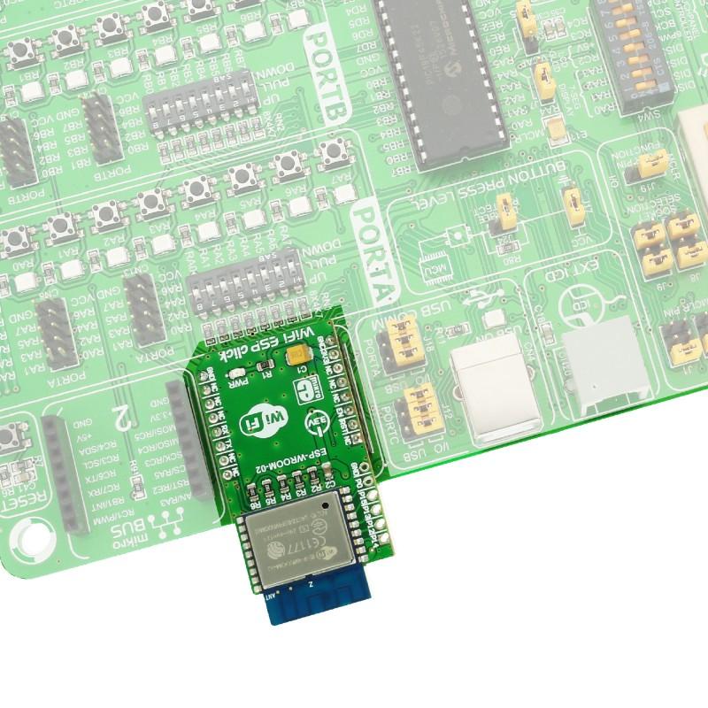 WiFi ESP Click Board - MikroElektronika
